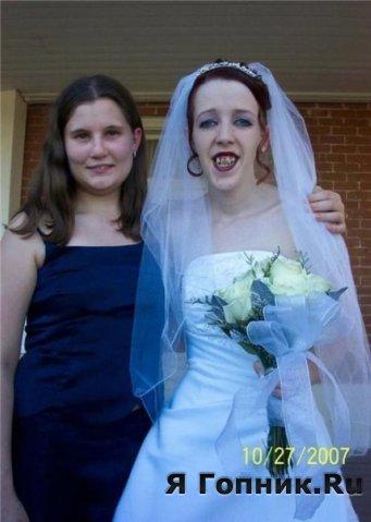 У корефана на свадьбе был. Охуел от невесты